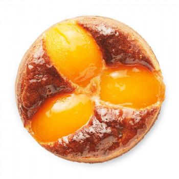 Cake de melocotón y almendra