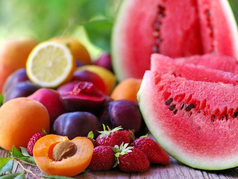 10 frutas y verduras de verano