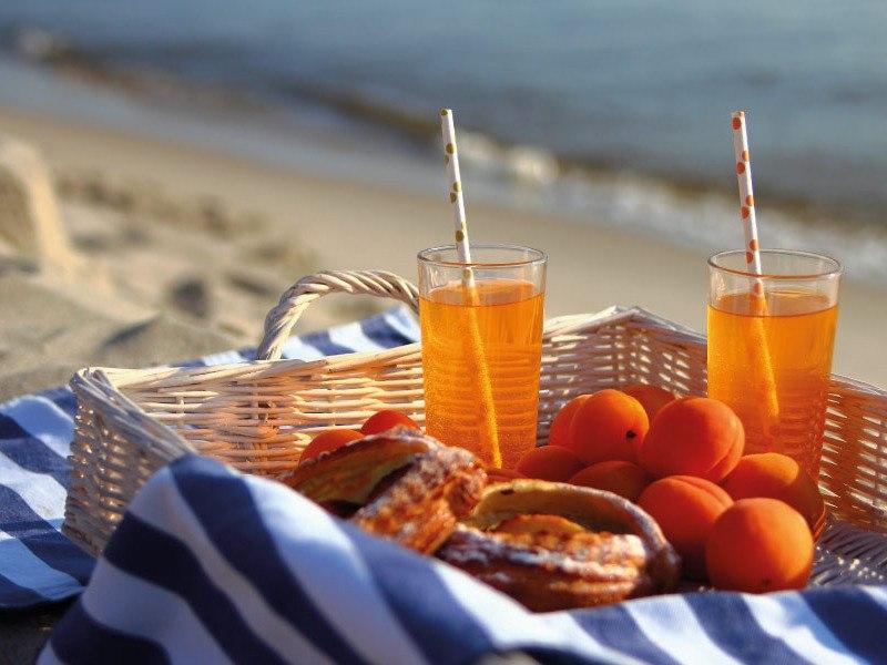 ¿Qué comer en la playa?