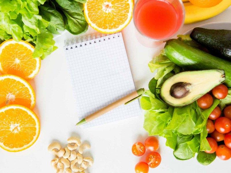 ¿Cómo preparar un menú semanal equilibrado?