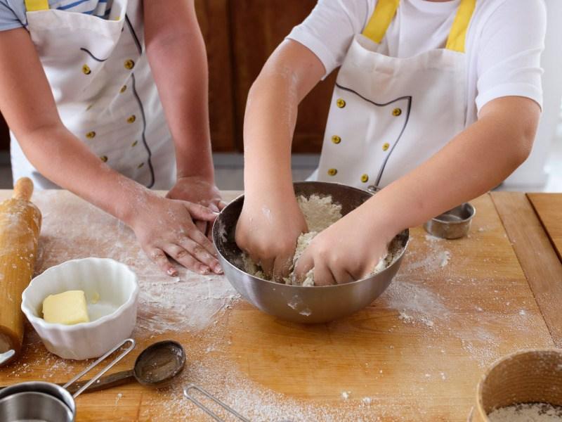 Recetas de galletas para hacer con niños