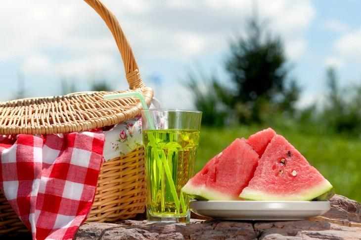 5 Ideas para un picnic saludable